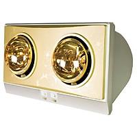 Đèn sưởi nhà tắm Milor 2 bóng treo tường- Hàng chính hãng
