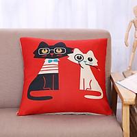 Gối Tựa Lưng Sofa Hoạt Hình Mèo PA9210
