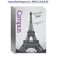Lốc 5 quyển vở kẻ ngang Landscape 200 trang B5 Campus NNB-BLAS200 Pháp