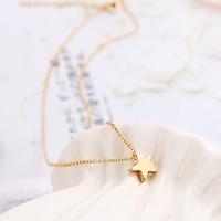Dây chuyền nữ ngôi sao năm cánh đơn giản