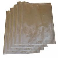 Bộ 5 Bìa bọc sách Plastic cho truyện tranh manga size 17.6mm