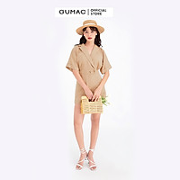 Áo sơ mi nữ GUMAC DB714 Jumpsuit phối túi