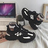 Giày thể thao nữ gót bạc, siêu chất
