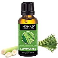 Tinh Dầu Thiên Nhiên Hương Sả Chanh Nomad Essential Oils Lemongrass 30ml