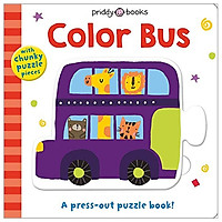 Puzzle And Play: Color Bus: A Press-Out Puzzle Book!