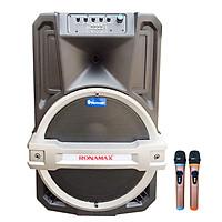 Loa kẹo kéo karaoke bluetooth Ronamax T15 - Hàng chính hãng