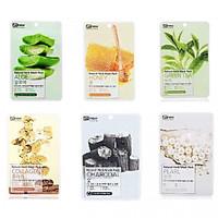 Bộ 12 miếng mặt nạ Benew Natural Herb Mask Pack cấp ẩm chống lão hóa da cao cấp Hàn Quốc ( có 6 loại - mỗi loại 2 miếng )