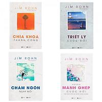 Combo 4 cuốn Chìa Khóa Thành Công + Châm Ngôn Ngày Mới + Triết Lý Cuộc Đời + Những Mảnh Ghép Cuộc Đời (Tặng kèm bookmark)