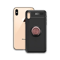 Ốp điện thoại Iphone XS Max - Chất liệu TPU Carbon Silicone mềm mại, chống bẩn - Iring màu Hồng - Hàng Chính Hãng