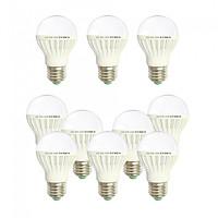 10 Bóng đèn Led 3w tiết kiệm điện sáng trắng Posson LB-E3