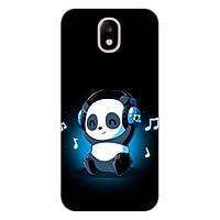Ốp lưng dẻo cho điện thoại Samsung Galaxy J7 Pro _Panda 05