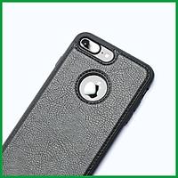 Ốp da đen cao cấp dành cho iPhone 7 Plus vs iPhone 8 Plus