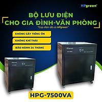 Bộ Nguồn Điện Dự Phòng HPGREEN HPG7500VA Nhập Khẩu Chính Hãng Thay Thế Cho Máy Phát Điện - Bộ Lưu Điện UPS