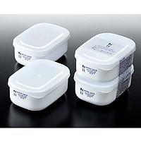 Bộ 2 set 2 Hộp đựng thực bằng nhựa PP cao cấp 280mL - Hàng nội địa Nhật