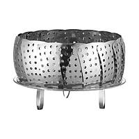 Stainless Steel Steamer Basket Adjustable Collapsible Steamer Folding Steamer Vegetable Steamers Basket Expandable