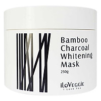 Mặt Nạ Than Tre Làm Trắng Da iLoVeggie Bamboo Charcoal Whitening Mask 250g/hộp