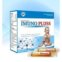 Thực Phẩm Bảo Vệ Sức  Khỏe IMUNO PLUSS - Giúp tăng sức đề kháng, tăng cường miễn dịch