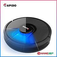 Robot hút bụi và lau nhà Rapido R8S (Đức chính hãng)- Hàng chính hãng