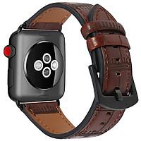 Dây Da Vân Tre cho Apple Watch Size 38mm / 40mm / 42mm / 44mm