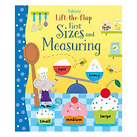 Usborne Lift-the-Flap First Sizes and Measuring