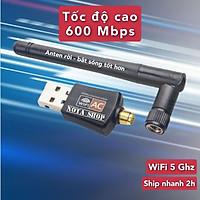 USB WIFI  tốc độ 150Mbps, giúp máy tính laptop bắt sóng WIFI, hàng nhập khẩu