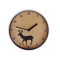 Đồng hồ treo tường Monote Rachel hình hươu 22cm