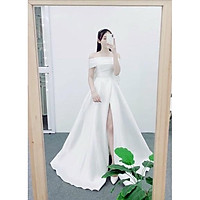 Đầm maxi dự tiệc mặc cưới được 5 kiểu TRIPBLE T DRESS - size M/L (kèm ảnh/video thật) MS158Y