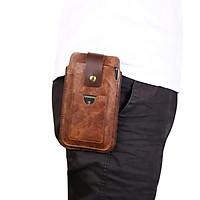 Túi SmileBox đeo hông thắt lưng loại đứng 2 ngăn 2 điện thoại, có ngăn thẻ cho điện thoại nhiều size 5.5in, 6in, 6.5in, 6.7in - Hàng chính hãng