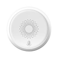 ZigBee Smoke Sensor Wireless Fire Alarm Automatic Intelligent Household Alarm Sensor White RSH-ZigBee-SS01