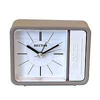 Đồng hồ báo thức Nhật Bản Rhythm CRE834NR38 Kt 9.4 x 7.4 x 3.7cm, 100g.