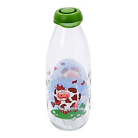 Chai thủy tinh đựng sữa Herevin Décor 111708-205 (1L)