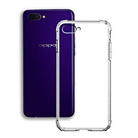 Ốp Lưng Chống Sốc cho điện thoại Oppo A3s - Dẻo Trong - Hàng Chính Hãng