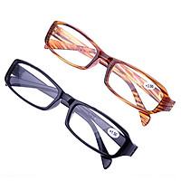Reading Glasses Unisex Ultra-light Older Vision Care Flexible Magnifying Anti-skidding Eyeglasses