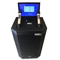 Loa kẹo kéo karaoke bluetooth Sansui SA 2-15 - Hàng nhập khẩu