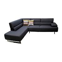 Sofa Vải Góc Phải Juno Alicia 268 x 200 x 85 cm (Xám đậm)