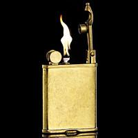 Hộp Quẹt Bật Lửa Xăng Đá XD-06 Chất Liệu Đồng Nguyên Khối