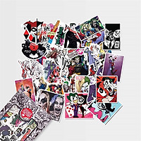 Joker & Harley Quinn - Set 30 sticker hình dán