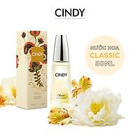 Nước hoa cho nữ Cindy Classic mùi hương cổ điển mê hoặc 50ml