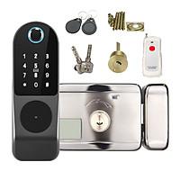 Khóa Cổng Vân Tay Thẻ Từ Mã Số Remote Dùng Pin Wifi SHP-IDL3B