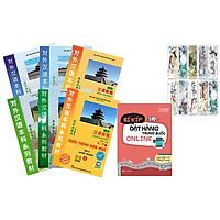 Combo Trọn Bộ Giáo Trình Hán Ngữ Phiên Bản Mới (6 cuốn) Và Bí Kíp Đặt Hàng Online Trung Quốc Tặng Bookmark Hiệu Sách Mùa Hạ -