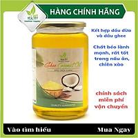 Dầu dừa ghee Viet healthy 1000ml, giàu vitamin A,D,K2,E, giúp thải độc, giàu chất xơ, bảo vệ tim mạch, tăng miễn dịch