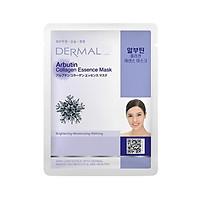 Mặt nạ Dermal dưỡng da tinh chất Arbutin Collagen 23g - Giúp cân bằng da, làm sạch, loại bỏ dầu dư thừa, giúp da sáng bóng