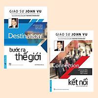 Combo Sách Kỹ Năng Khởi Nghiệp Cực Hay Để Thành Công: Bước Ra Thế Giới + Connection - Kết Nối (Lời Khuyên Sinh Viên Việt Nam - Tái Bản)