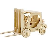 Mô hình lắp ghép 3D bằng gỗ Xe nâng