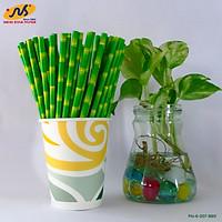 [AgroLife] Ống hút giấy từ sợi mía - Hộp 20 ống hút giấy sợi mía phi 6mm không cắt xéo - 100% từ thiên nhiên không ảnh hưởng sức khoẻ người dùng - Thân thiện với môi trường