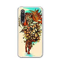 Ốp lưng dẻo cho điện thoại Xiaomi Mi 9 SE - 0479 TIGER05 - Hàng Chính Hãng