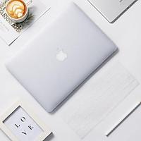 Combo 5in1 Case,Ốp dành cho Macbook Và Phủ Phím Màu Trong Mờ (Tặng Kèm Miếng Dán Màn Hình,Nút Chống Bụi,Kẹp Chống Gãy Sạc)