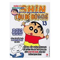 Shin Cậu Bé Bút Chì - Phiên Bản Hoạt Hình Màu: Món Cà Ri Hảo Hạng Của Bếp Trưởng Shinnosuke - Tập 13 ( Tái Bản )