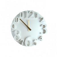 Đồng hồ treo tường Monote màu trắng 40 cm