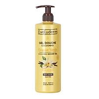 Gel tắm Evoluderm chiết xuất vanilla 500ml - 18332